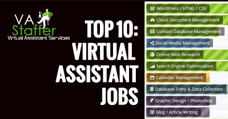 Virtual Assistant tasks