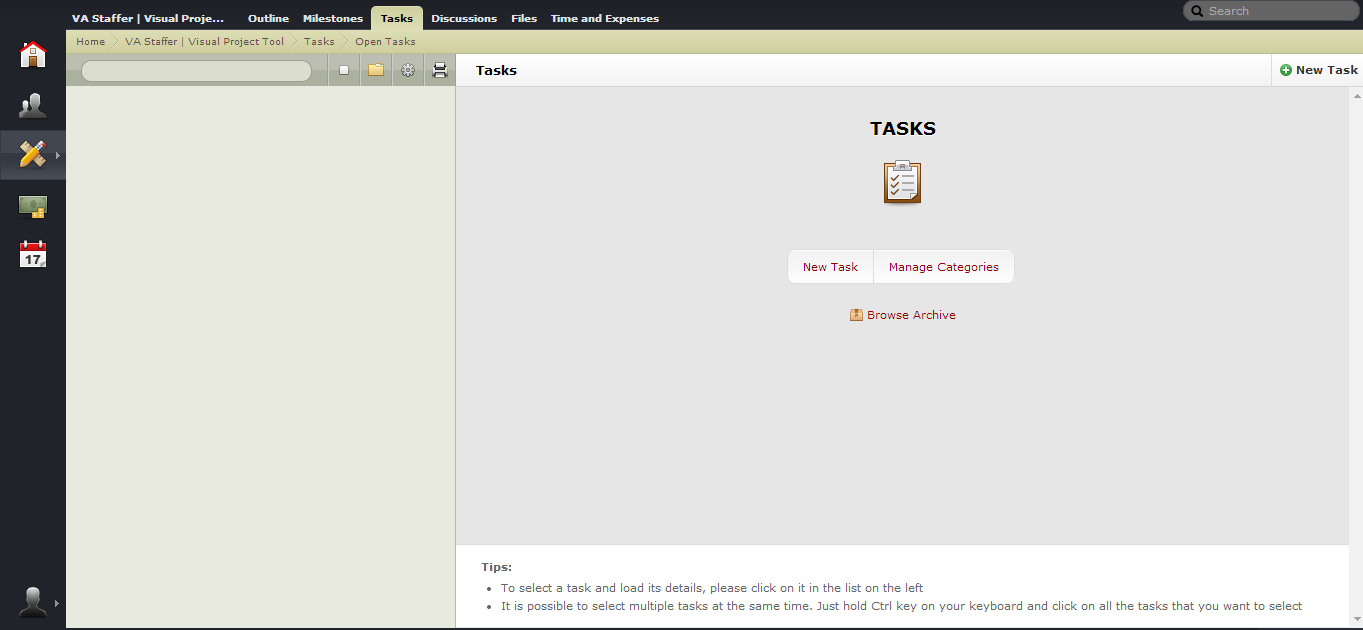ActiveCollab Task View