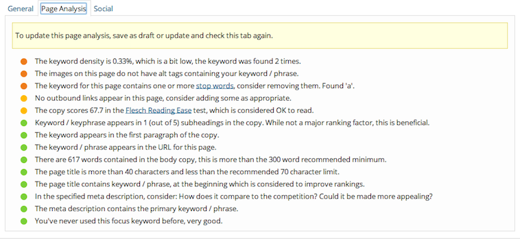 Fine Tune SEO on Page Using Popular SEO Plug-Ins like YOAST