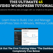 WordPress Tutorial Videos