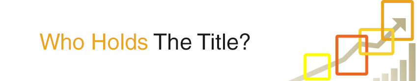 Who Holds the Title