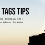Onsite SEO Tags Tips
