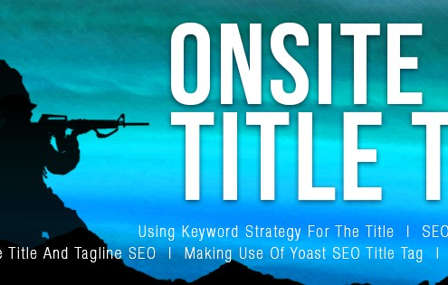 Onsite SEO Title Tips