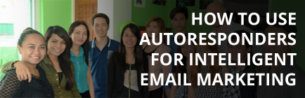 How to use an autoresponder for intelligent email marketing
