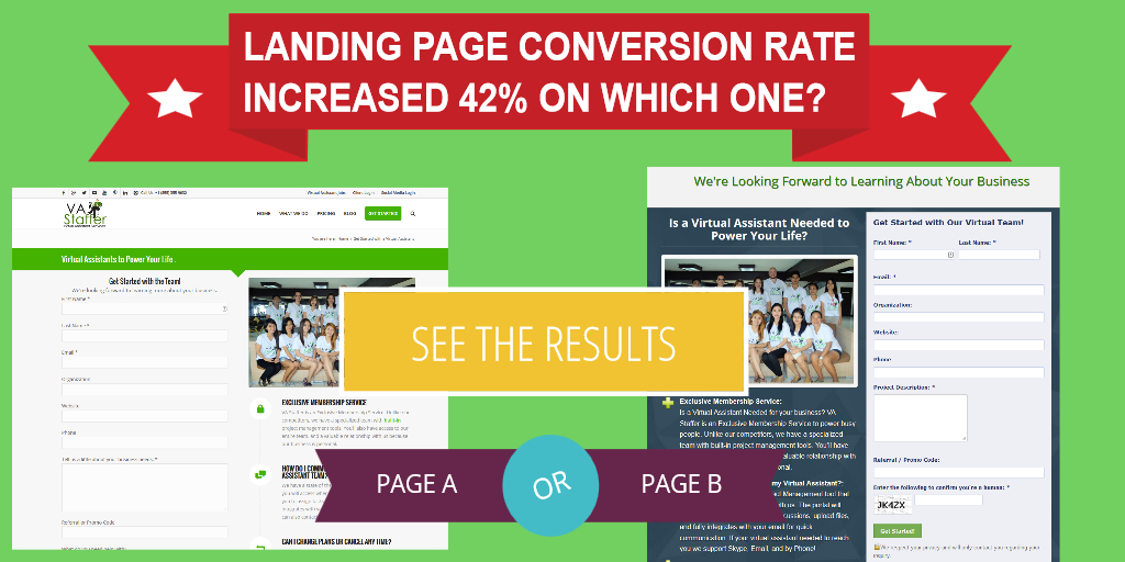 Landing Page Conversion Rate Options