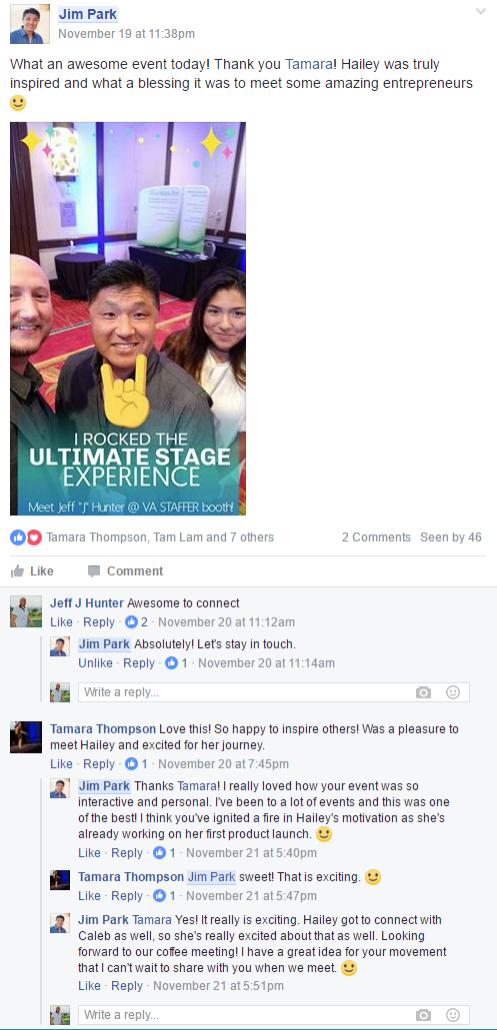 snapchat post advertising
