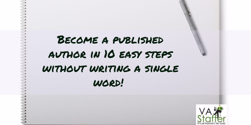 How to Become a Published Author in 10 Steps